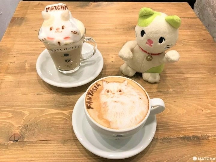 HATCOFFEE – Amazing Order-Made 3D And 2D Latte Art In Asakusa