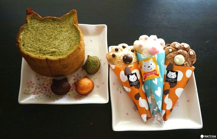 Osaka's Cutest Bread – Blue Jean Bakery's Cat-Shaped Baked Goods